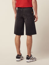 Bermudashorts Aus Jeans : LastChance-RE-HSelection-Pap&Access farbe Schwarz