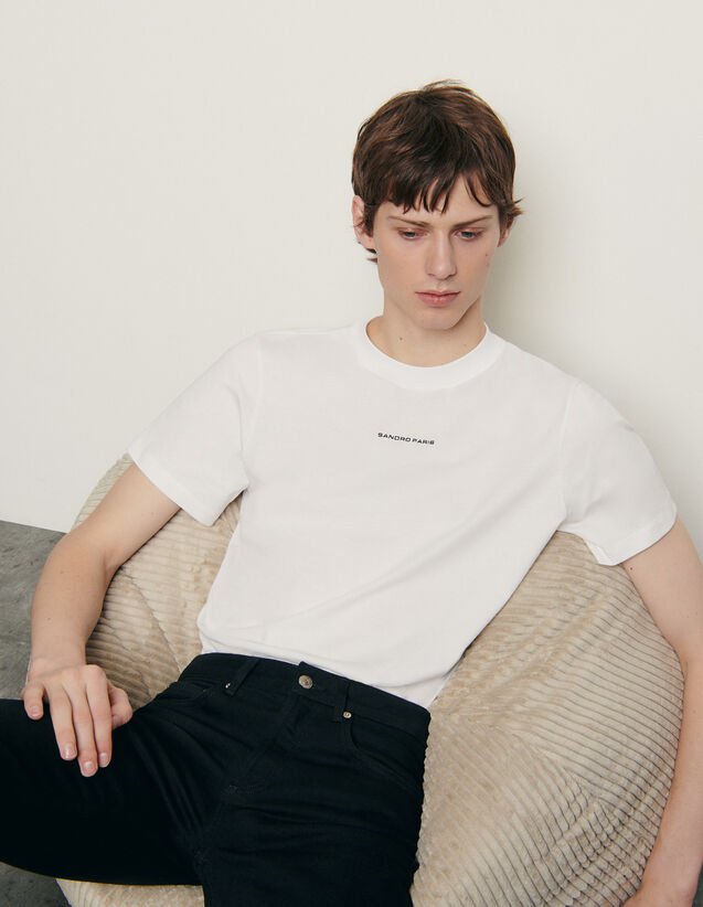 T-Shirt aus bio Baumwolle : Winterkollektion farbe Orange