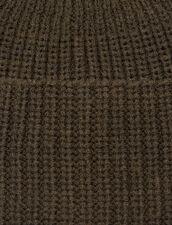 Mütze mit Umschlag : Handschuhe & Mütze farbe Khaki