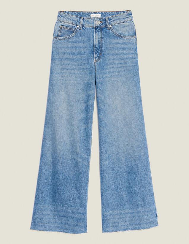 Weite Jeans : Jeans farbe Blue Vintage - Denim
