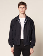 Oversize-Blouson Im Harrington-Stil : Sélection Last Chance farbe Marine