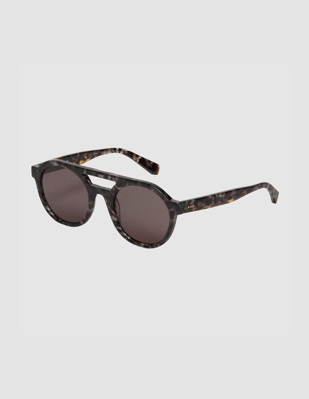 Piloten-Sonnenbrille : Sonnenbrille farbe Gris charbon