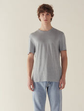 T-Shirt Aus Leinen : T-Shirts & Polos farbe Tinte