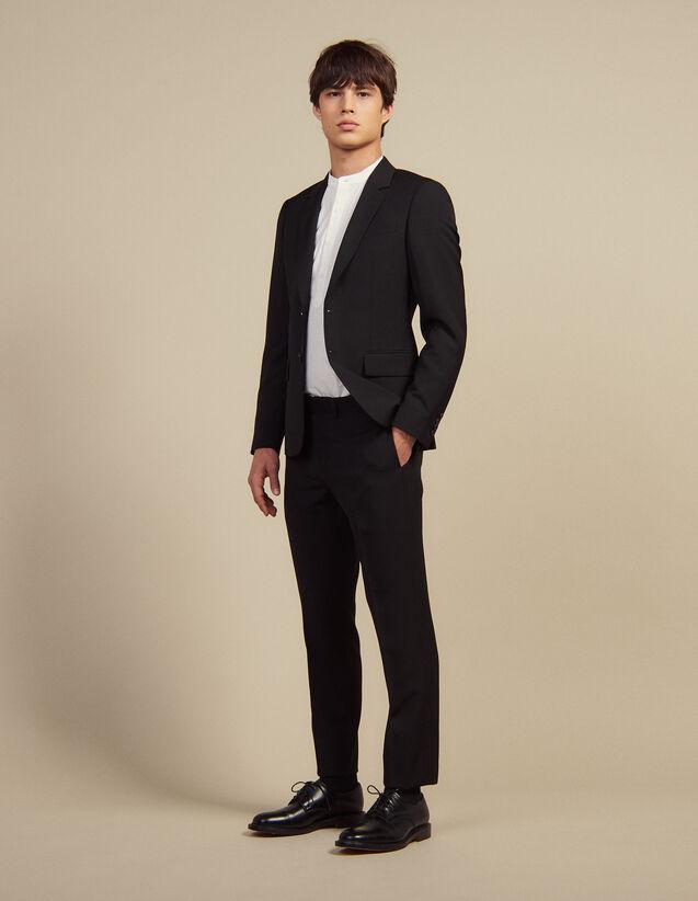 Anzughose Aus Wolle : Anzüge & Smokings farbe Schwarz