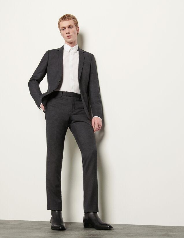 Anzughose : Anzüge & Smokings farbe Grau Meliert