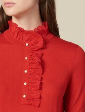 Pullover Mit Tüll Am Kragen : FBlackFriday-FR-FSelection-30 farbe Rot