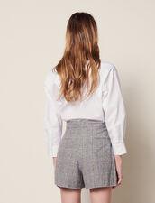 Karierte Shorts : null farbe Grau