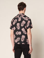 Hemd Mit Hawaii-Druck : Hemden farbe Schwarz