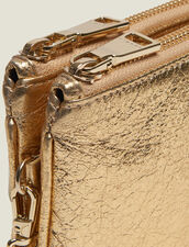 Addict Pochette : Kleinlederwaren farbe Full Gold