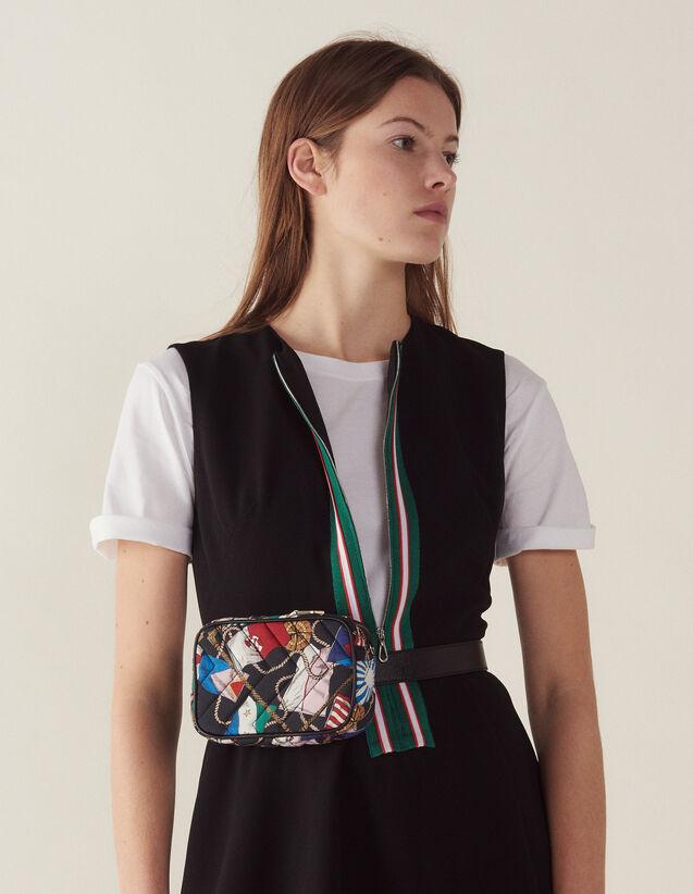 Kurzarm-Kleid Mit Reißverschluss : LastChance-CH-FSelection-Pap&Access farbe Schwarz