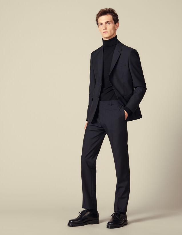 Anzughose mit klassischem Schnitt : Anzüge & Smokings farbe Marine
