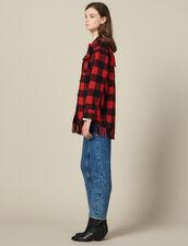 Oversize-Hemdjacke : VP-ES-FBest-sellers farbe Rouge/Noir