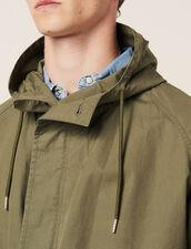 Parka Aus Verwaschener Baumwolle : LastChance-RE-HSelection-Pap&Access farbe Khaki