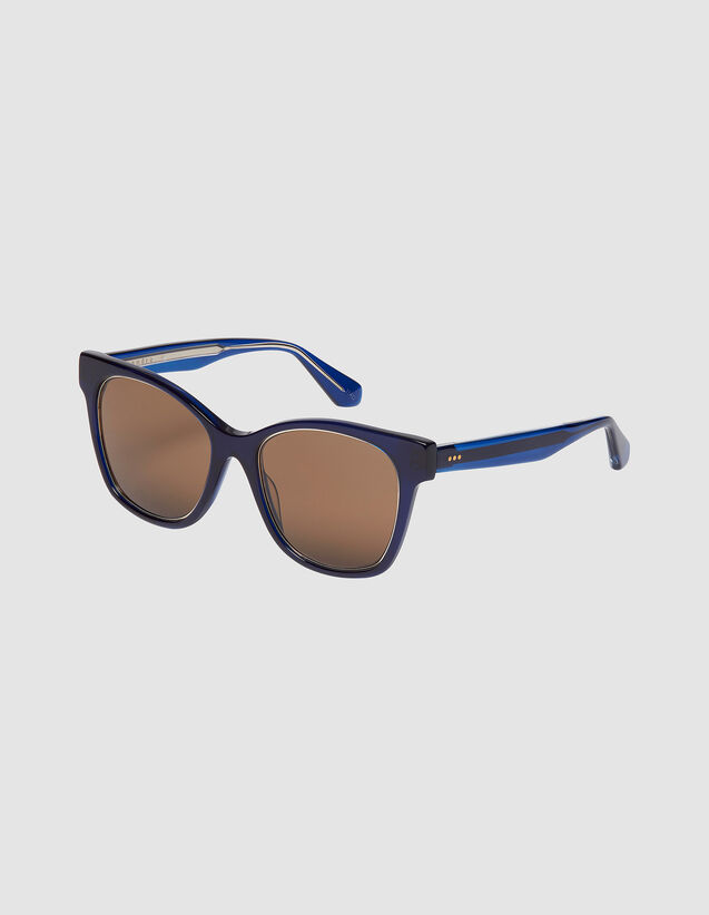Oversize-Brille : FBlackFriday-FR-FSelection-ACCESS farbe Tabak
