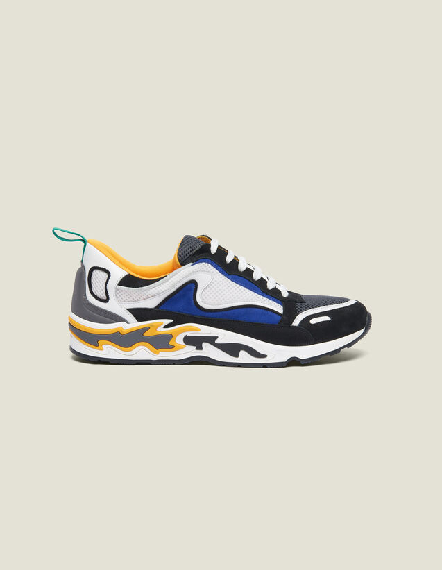 Flame sneaker : Schuhe farbe Gelb