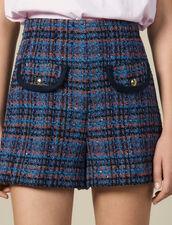 Shorts Aus Tweed : LastChance-ES-F40 farbe Bunt
