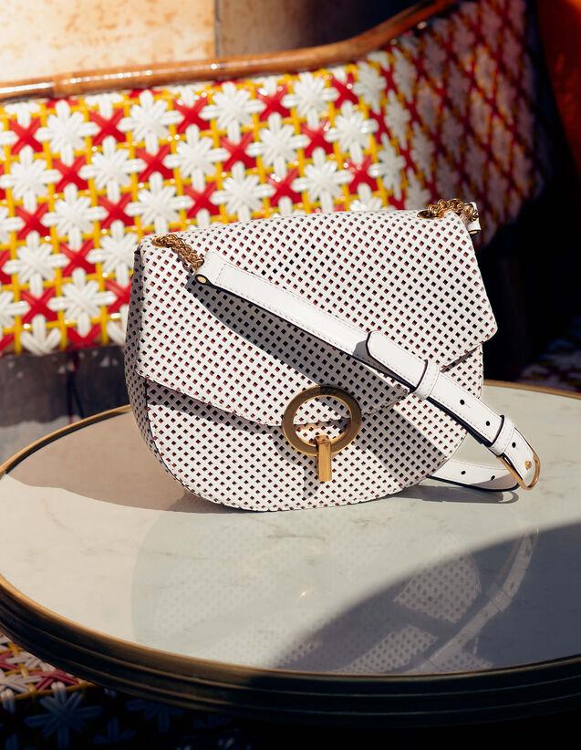 Pépita Tasche, Mittleres Modell : Taschen farbe Weiß