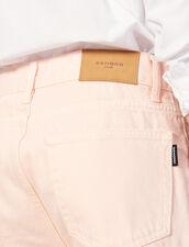 Gerade Jeans Aus Baumwolltoile : LastChance-RE-HSelection-Pap&Access farbe Rosa
