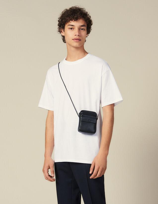 T-Shirt Aus Baumwolle : Neue Kollektion farbe Schwarz