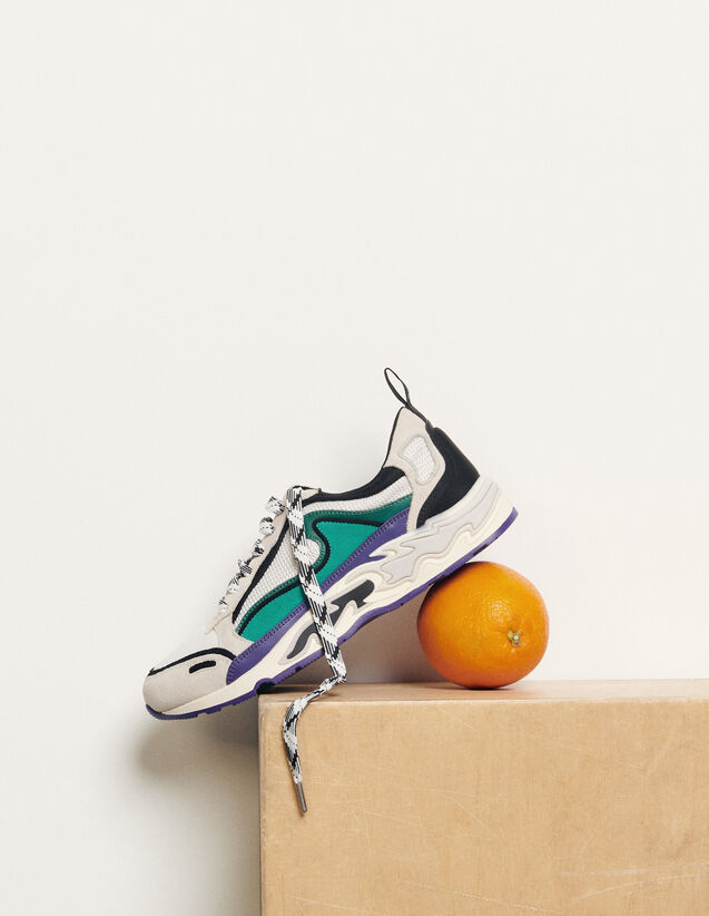 Flame sneaker : Schuhe farbe Lilas