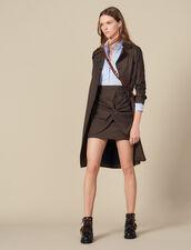 Kleid mit Trompe-l'œil-Effekt : FBlackFriday-FR-FSelection-30 farbe Ciel