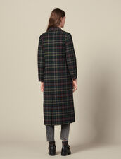 Langer Mantel Mit Strassverzierung : Mäntel farbe Flaschengrün