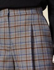 Karierte Shorts mit Falten : FBlackFriday-FR-FSelection-30 farbe Grau