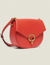 Handtasche Pepita Mittleresmodell : Sommer Kollektion farbe Grenadine