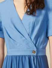 Wickelkleid Aus Materialmix : LastChance-CH-FSelection-Pap&Access farbe Blau