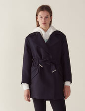 Mantel Im Trenchcoat-Stil : null farbe Marine