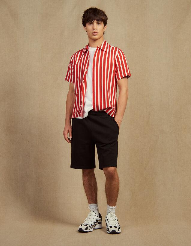 Shorts Aus Jersey : Hosen & Shorts farbe Schwarz