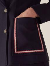 Zweireihiger Blazer : Blousons & Jacken farbe Marine