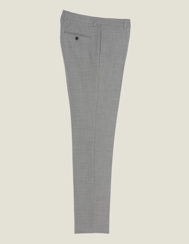 Anzughose Aus Wolle : Anzüge & Smokings farbe Hellgrau
