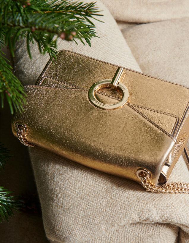 Kleine Yza Tasche Modell Full Gold : Taschen farbe Full Gold