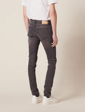 Destroy-Jeans – Passform: Skinny : LastChance-CH-HSelection-Pap&Access farbe Grau
