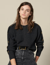 Pullover Mit Schmuckknöpfen : Pullover & Cardigans farbe Anthrazit