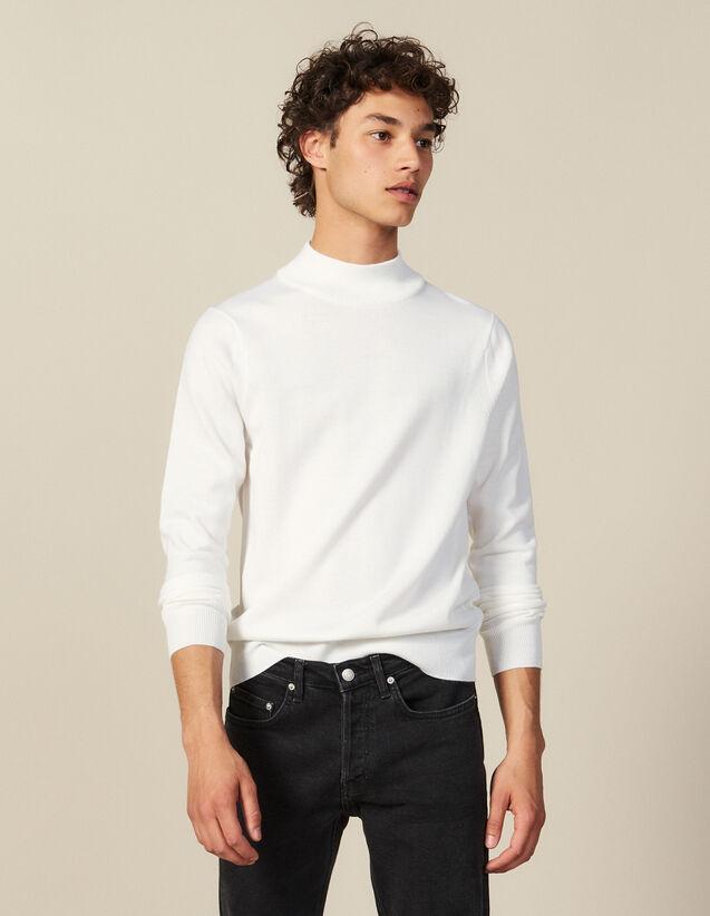 Pullover Mit Stehkragen : Pullovers & Cardigans farbe Ecru