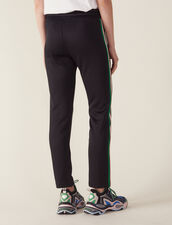 Hose Im Joggingstil : null farbe Schwarz