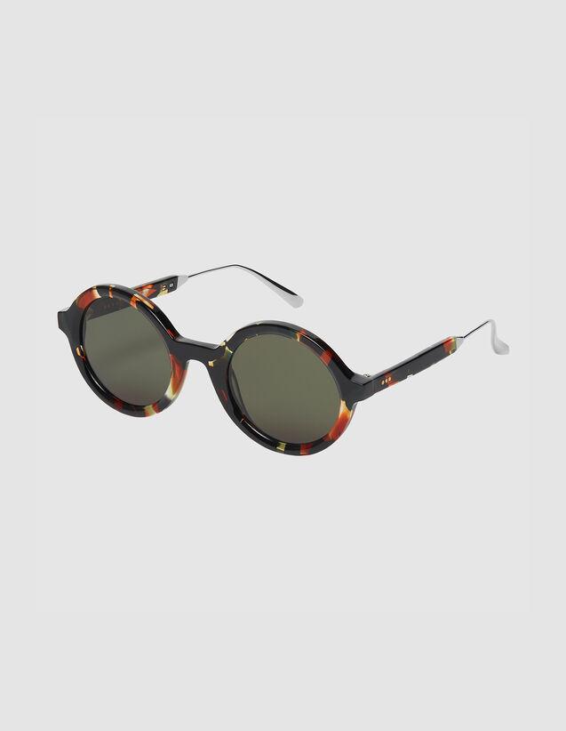 Runde Sonnenbrille : Sonnenbrille farbe Karamell
