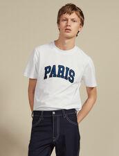 T-Shirt Mit Schriftzug : Sélection Last Chance farbe Weiß