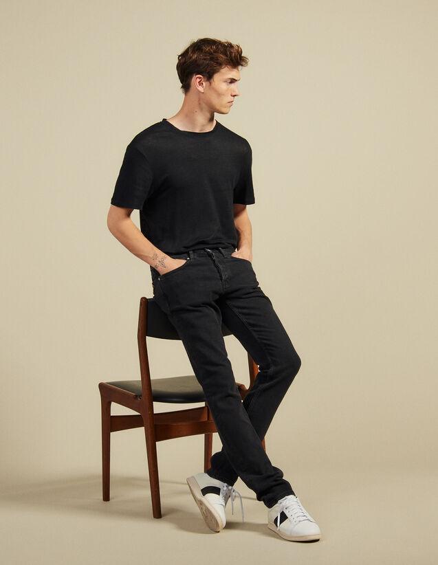Jeans - Passform: Skinny : Jeans farbe Black - Denim