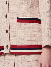 Westenjacke Aus Tweed : LastChance-CH-FSelection-Pap&Access farbe Rosa
