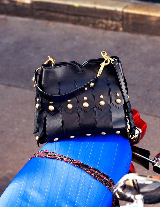 Tasche Mit Breiten Fransen : Taschen farbe Schwarz