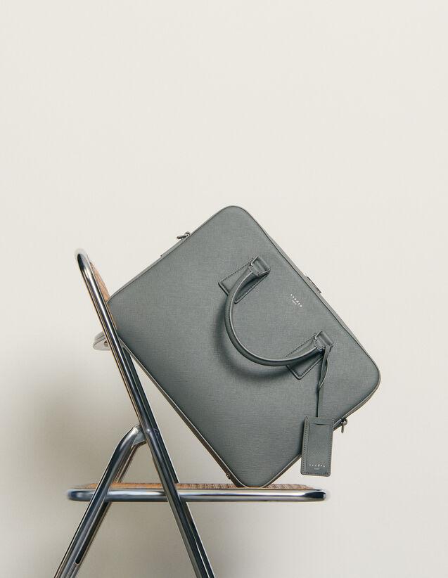 Aktentasche aus Saffiano-Leder : Alle Lederwaren farbe Marine