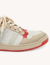 Sneaker im Vintage-Stil : Schuhe farbe Rot