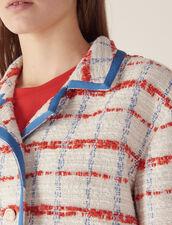 Tweed-Blazer : null farbe Bunt