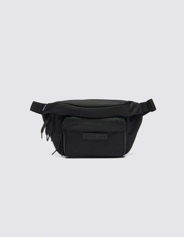 Crossbody-Gürteltasche : Alle Lederwaren farbe Schwarz