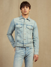 Blouson Aus Denim : Sélection Last Chance farbe Stone Washed - Denim