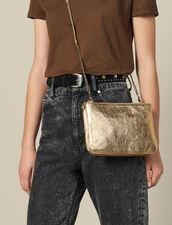 Addict Pochette : Taschen farbe Full Gold