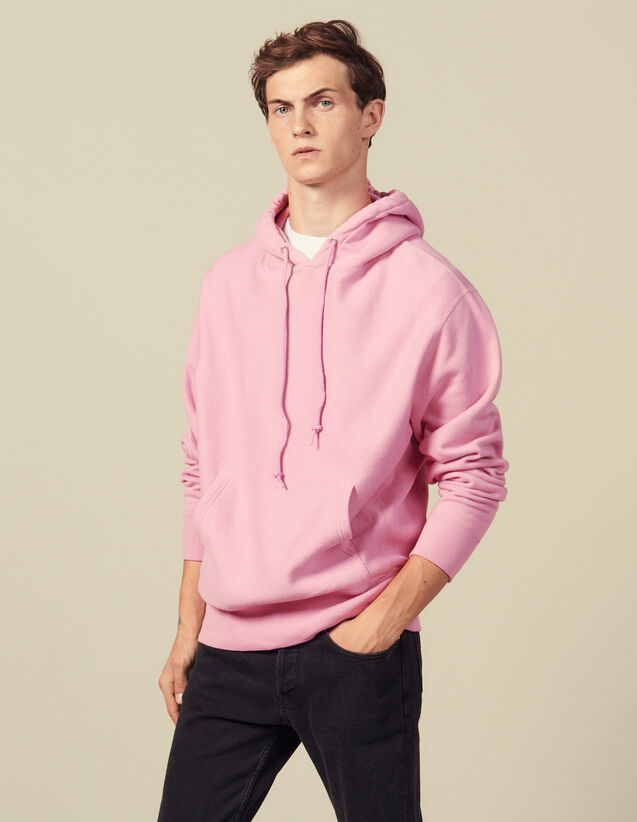 Hoodie Aus Baumwolle : Sweatshirts farbe Rosa
